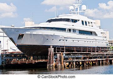marina, yacht