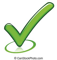 marque, conception, chèque, icône