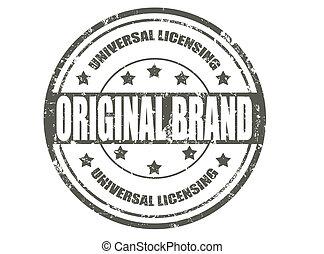 marque, timbre, original