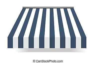 marquise, bleu, storefront