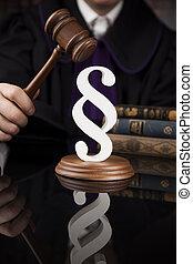 marteau, droit & loi, justice, thème, tribunal, paragraphe, maillet