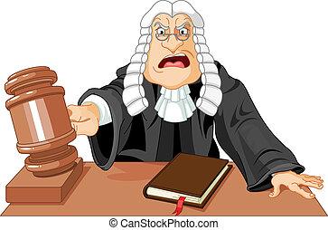 marteau, juge