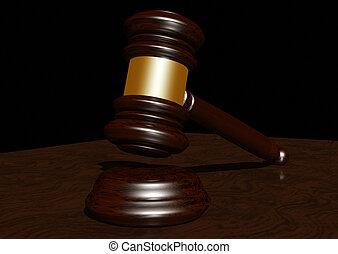 marteau, juges