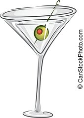 martini, boissons