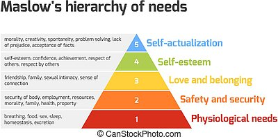 maslow's, pyramide, besoins