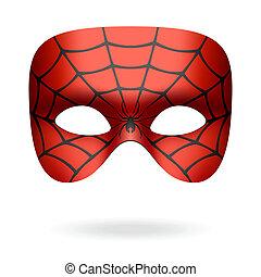 masque, araignés