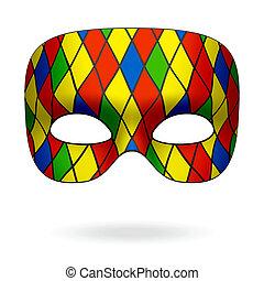 masque, arlequin