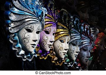 masques, vénitien