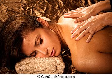 massage dorsal