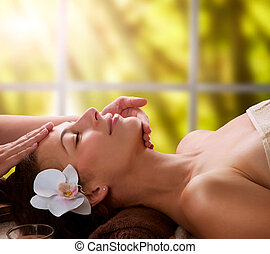 massage facial, spa