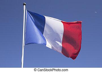 mast., drapeau français