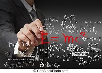 maths, formule, science