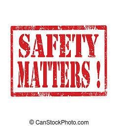 matters-stamp, sécurité