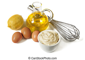 mayonnaise, ingrédients