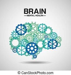 mental, conception, santé