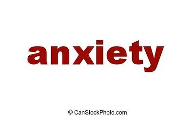 mental, inquiétude, symbole, santé