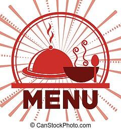 menu, restaurant