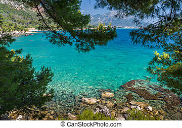 mer adriatique, baie