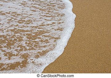 mer, vague