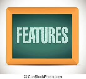 message, caractéristiques, illustration, planche
