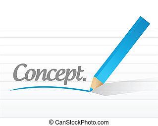 message, concept, conception, illustration