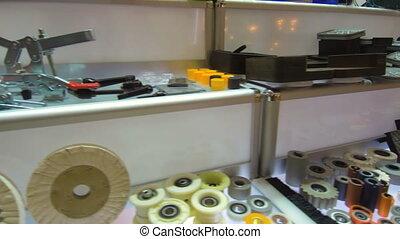 meubles, manufacture., convoyeur