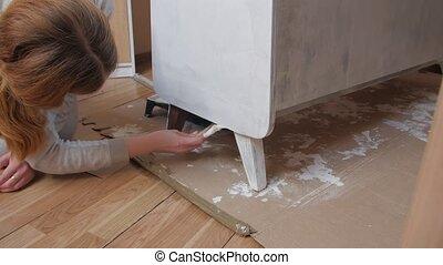 meubles, restauration, peinture
