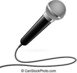 microphone, karaoke