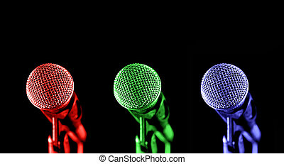 microphones, primaire