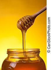 miel, écoulement