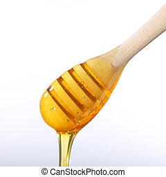 miel, liquide