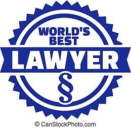 mieux, monde, avocat