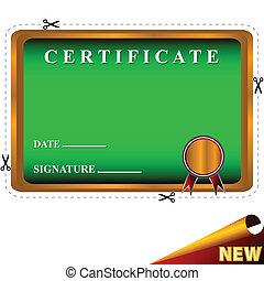mieux, nouveau, certificat