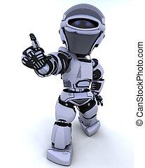 mignon, cyborg, robot