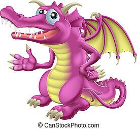 mignon, dragon