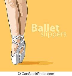 mignon, pantoufles ballet