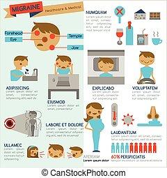 migraine, infographic