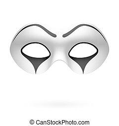mime, clown, masque