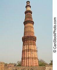 minar, delhi, qutab
