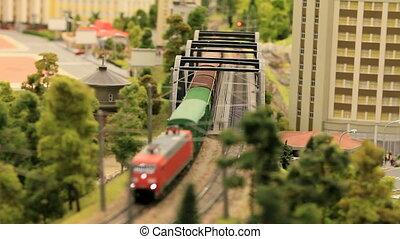 miniature, ferroviaire