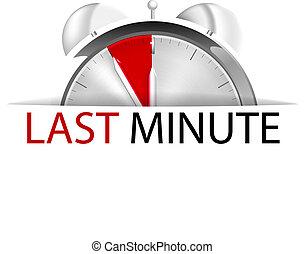 minute dernière