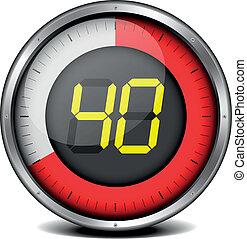 minuteur, 40, numérique