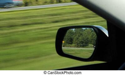 miroir., côté conducteur
