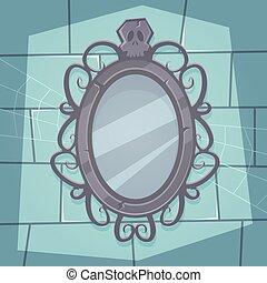 miroir, terrifiant