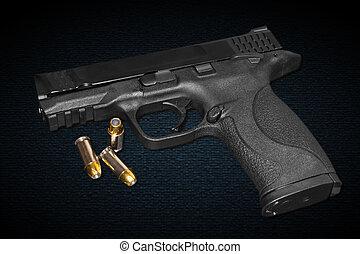mm, 45, fusil, calibre