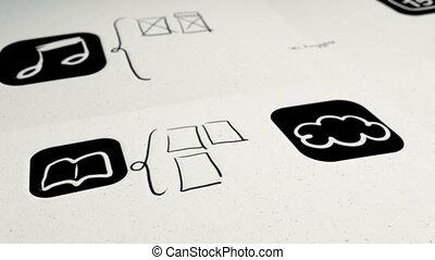 mobile, app, conception, construire