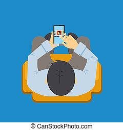 mobile, app