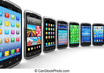 mobile, applications, smartphones