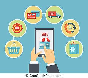 mobile, ordre, paiement