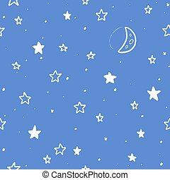 modèle, étoiles